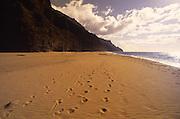 Kalalau Beach, Napali Caost, Kauai, Hawaii<br />