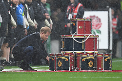 November 10, 2018 - London, London, United Kingdom - Prince Harry. England face the All Blacks at Twickenham Stadium during the Quilter Internationals 2018. (Credit Image: © Andrew Parsons/i-Images via ZUMA Press)