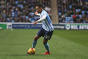 Coventry City forward Jacob Murphy on loan from Norwich City  during the Sky Bet League 1 match between Coventry City and Port Vale at the Ricoh Arena, Coventry, England on 26 December 2015. Photo by Simon Davies.