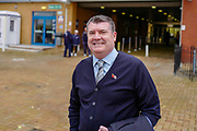 Reading Football Club CEO Ron Gourlay arriving for the EFL Sky Bet Championship match between Reading and Bristol City at the Madejski Stadium, Reading, England on 3 November 2018.