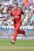 Gavin Griffiths during the NatWest T20 Blast Semi Final match between Hampshire County Cricket Club and Lancashire County Cricket Club at Edgbaston, Birmingham, United Kingdom on 29 August 2015. Photo by David Vokes.