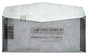 subscription no postage needed reply business envelope back view