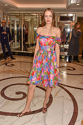 Idina Moncrieffe at The Cartier Racing Awards 2018 held at The Dorchester, Park Lane, England. 13 November 2018. <br /> <br /> ***For fees please contact us prior to publication***