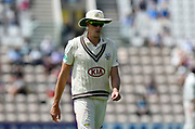 Morne Morkel of Surrey during the Specsavers County Champ Div 1 match between Hampshire County Cricket Club and Surrey County Cricket Club at the Ageas Bowl, Southampton, United Kingdom on 11 June 2018. Picture by Graham Hunt.