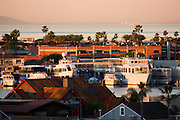 The Bay And Peninsula In Newport Beach, Orange County, California