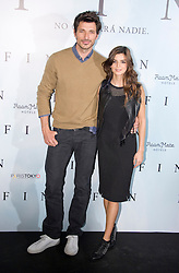 Andres Velencoso and Clara Lago attend a photocall for 'Fin', Room Mate Oscar Hotel, Madrid, Spain, November 20, 2012. Photo by Oscar Gonzalez / i-Images...SPAIN OUT
