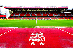 A general view of The City Ground, home to Nottingham Forest - Mandatory by-line: Ryan Crockett/JMP - 22/02/2020 - FOOTBALL - The City Ground - Nottingham, England - Nottingham Forest v Queens Park Rangers - Sky Bet Championship