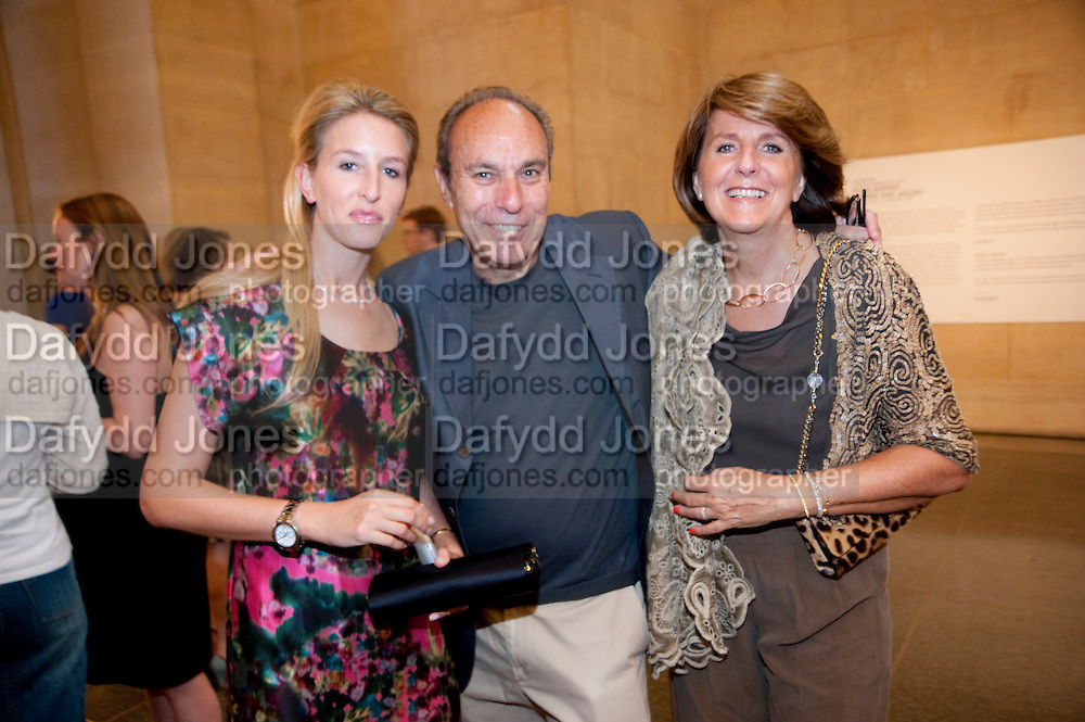 KATHERINE BAXTER; DENNIS HOTZ; DANIELA PRIEBATSICH, , Tate Summer Party. Celebrating the opening of the  Fiona Banner. Harrier and Jaguar. Tate Britain. Annual Duveens Commission 29 June 2010. -DO NOT ARCHIVE-© Copyright Photograph by Dafydd Jones. 248 Clapham Rd. London SW9 0PZ. Tel 0207 820 0771. www.dafjones.com.