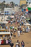 Santa Monica, Pacific, Park, CA, crowded, Pier, Vertical