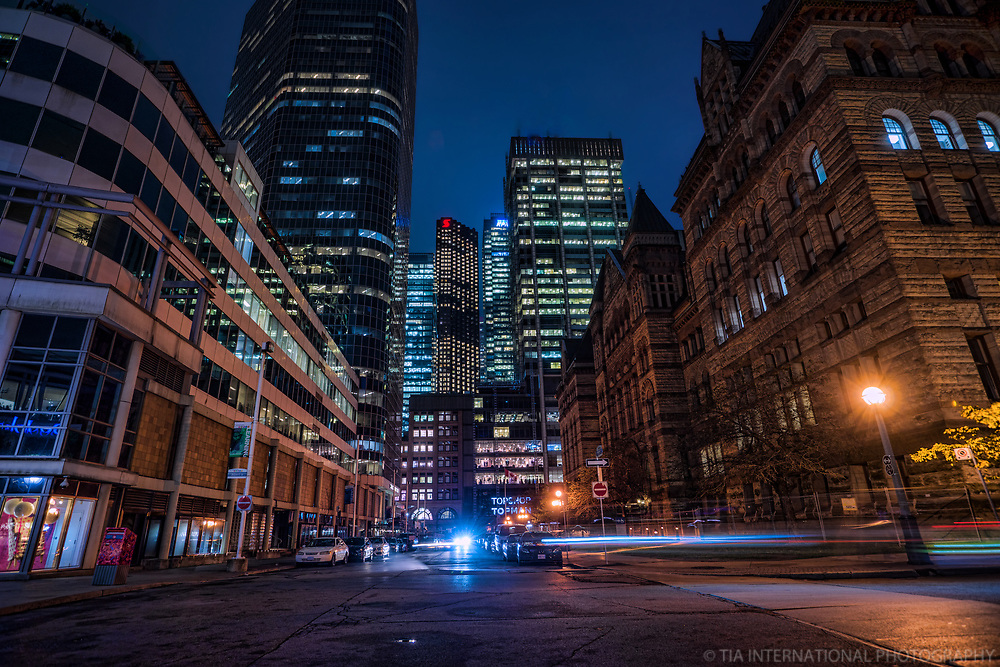 James Street & Old City Hall (right), Downtown Toronto