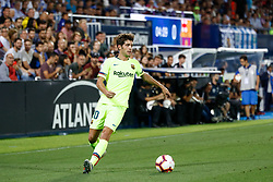 September 26, 2018 - Sergi Roberto of FC Barcelona during the La Liga (Spanish Championship) football match between CD Leganes and FC Barcelona on September 26th, 2018 at Municipal Butarque stadium in Madrid, Spain. (Credit Image: © AFP7 via ZUMA Wire)
