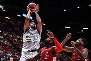 Tyler Cain<br /> A X Armani Exchange Olimpia Milano - Germani Basket Brescia<br /> Basket Serie A LBA 2019/2020<br /> MIlano 29 September 2019<br /> Foto Mattia Ozbot / Ciamillo-Castoria