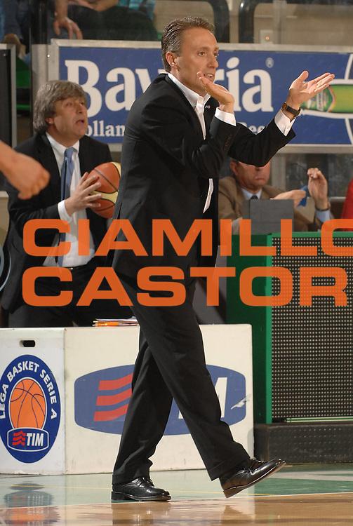 DESCRIZIONE : Treviso Lega A1 2007-08 Benetton Treviso Eldo Napoli <br /> GIOCATORE :  Piero Bucchi<br /> SQUADRA : Eldo Napoli<br /> EVENTO : Campionato Lega A1 2007-2008 <br /> GARA : Benetton Treviso Eldo Napoli <br /> DATA : 30/03/2008<br /> CATEGORIA : Ritratto<br /> SPORT : Pallacanestro <br /> AUTORE : Agenzia Ciamillo-Castoria/M.Gregolin