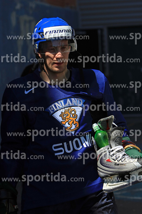 Antti-Jussi Niemi at practice of Finland national team at Hockey IIHF WC 2008 in Halifax,  on May 04, 2008 in Forum Centre, Halifax, Nova Scotia, Canada.  (Photo by Vid Ponikvar / Sportal Images)