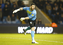 February 12, 2019 - London, England, United Kingdom - Sheffield Wednesday's Keiren Westwood.during Sky Bet Championship match between Millwall and Sheffield Wednesday at The Den Ground, London on 12 Feb 2019. (Credit Image: © Action Foto Sport/NurPhoto via ZUMA Press)
