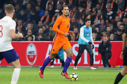 Netherlands Defender Virgil van Dijk (Liverpool) during the Friendly match between Netherlands and England at the Amsterdam Arena, Amsterdam, Netherlands on 23 March 2018. Picture by Phil Duncan.