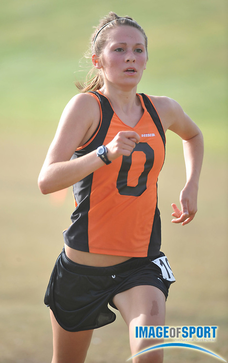 "Sep 6, 2008; Irvine, CA, USA; Saide Mohler of Occidental competes in the womens ""B"" race in the UC Irvine Invitational at the Anteater Recreation Center Fields."