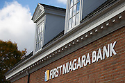 A First Niagara Bank branch in Rochester, NY on Friday, October 30, 2015. Ohio-based KeyCorp announced Friday that it would purchase First Niagara for $4.1 billion. Photographer: Mike Bradley/Bloomberg