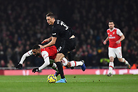 Football - 2019 / 2020 Premier League - Arsenal vs. Manchester United<br /> <br /> Arsenal's Alexandre Lacazette is fouled by Manchester United's Nemanja Matic, The Emirates Stadium.<br /> <br /> COLORSPORT/ASHLEY WESTERN