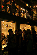 Exterior atmosphere Chloe Boutique los angeles