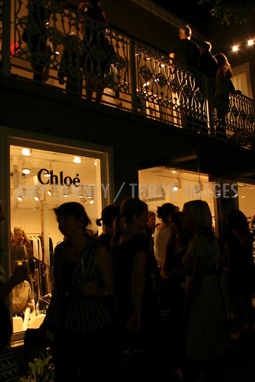 Exterior atmosphere Chloe Boutique los angeles