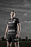 Owen Farrell cover shoot for Rugby World Magazine. Owen Farrell