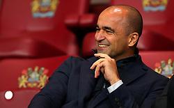 Belgium Manager Roberto Martinez in the stands at Burnley - Mandatory by-line: Robbie Stephenson/JMP - 30/10/2017 - FOOTBALL - Turf Moor - Burnley, England - Burnley v Newcastle United - Premier League