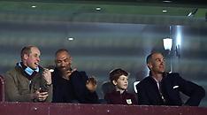 Prince William and John Crew at Aston Villa v Cardiff City - 10 Apr 2018