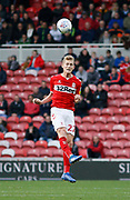 Middlesbrough midfielder George Saville (22)  during the EFL Sky Bet Championship match between Middlesbrough and Nottingham Forest at the Riverside Stadium, Middlesbrough, England on 6 October 2018.