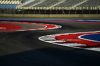 Circuit detail.<br /> United States Grand Prix, Thursday 30th October 2014. Circuit of the Americas, Austin, Texas, USA.