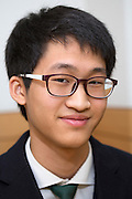 Young hwan Kim, student at the Shinil High School, Seoul, South Korea.