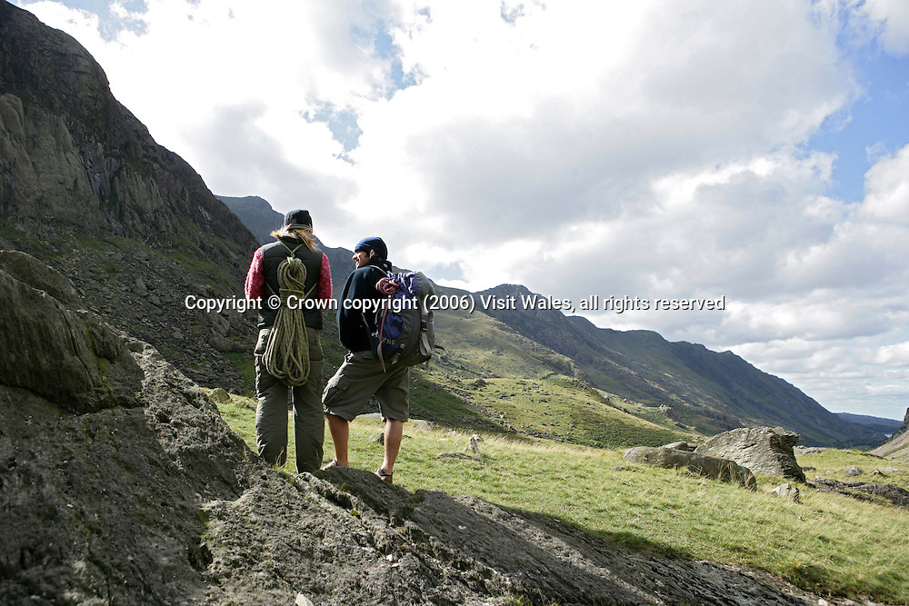 Ogwen Valley<br /> Snowdonia<br /> North Wales<br /> Climbing<br /> Activities &amp; Sports