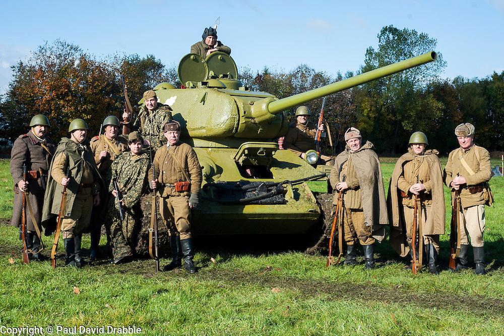 Pickering Show Ground Living History and Battle Reenactments<br /> 13 October 2013<br /> Image &copy; Paul David Drabble<br /> www.pauldaviddrabble.co.uk