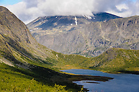 Norway, Oppland, Valdresflya. Just south of the Gjende Lake and Besseggen, in Jotunheimen.