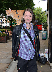 19 JULY 2014 James Bowen and Street Cat Bob book signing