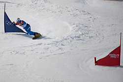 22.02.2014, Rosa Khutor Extreme Park, Krasnaya Polyana, RUS, Olympia Sochi 2014, Snowboard Parallelslalom Herren, im Bild Benjamin Karl (AUT) // during the Olympic Winter Games Sochi 2014 Rosa Khutor Extreme Park in Krasnaya Polyana, Russia on 2014/02/22. EXPA Pictures © 2014, PhotoCredit: EXPA/ Freshfocus/ Urs Lindt<br /> <br /> *****ATTENTION - for AUT, SLO, CRO, SRB, BIH, MAZ only*****