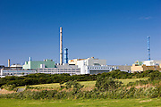 Nuclear waste reprocessing plant at Cap de la Hague in Normandy, France