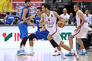 DESCRIZIONE : Berlino Berlin Eurobasket 2015 Group B Italy Serbia<br /> GIOCATORE :  Milos Teodosic<br /> CATEGORIA :Controcampo palleggio Penetrazione<br /> SQUADRA :Serbia<br /> EVENTO : Eurobasket 2015 Group B <br /> GARA : Italy Serbia<br /> DATA : 10/09/2015 <br /> SPORT : Pallacanestro <br /> AUTORE : Agenzia Ciamillo-Castoria/I.Mancini <br /> Galleria : Eurobasket 2015 <br /> Fotonotizia : Berlino Berlin Eurobasket 2015 Group B Italy Serbia