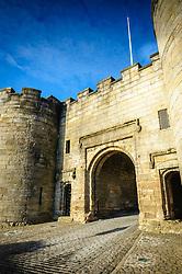 The main gate to Stirling Castle, Stirlingshire, Scotland<br /> <br /> (c) Andrew Wilson | Edinburgh Elite media