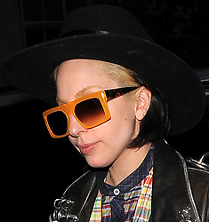 Lady Gaga out and about in London, UK. 05/12/2013<br /> BYLINE MUST READ : GOTCHAIMAGES.COM<br /> <br /> Copyright by © Gotcha Images Ltd. All rights reserved.<br /> Usage of this image is conditional upon the acceptance <br /> of Gotcha Images Ltd, terms and conditions available at<br /> www.gotchaimages.com