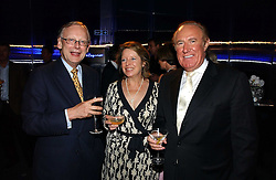 Left to right, JOHN & PENNY GUMMER and ANDREW NEIL at a party to celebrate the 25th anniversary of leading restaurant Le Caprice held at The Serpentine Gallery, London on 3rd October 2006.<br />