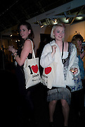 JENNI SUTTON; JEMIMA DAISY, FashionExpo, fashion show and Awards. Business Design Centre, Upper st. London. 19 November 2008.  *** Local Caption *** -DO NOT ARCHIVE -Copyright Photograph by Dafydd Jones. 248 Clapham Rd. London SW9 0PZ. Tel 0207 820 0771. www.dafjones.com