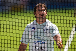 Primoz Kozmus  of Slovenia competes in the men's Hammer Throw qualifying event of the 2009 IAAF Athletics World Championships on August 15, 2009 in Berlin, Germany. (Photo by Vid Ponikvar / Sportida)
