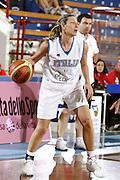 DESCRIZIONE : Porto San Giorgio Torneo Internazionale Basket Femminile Italia Croazia<br /> GIOCATORE : Francesca Modica<br /> SQUADRA : Nazionale Italia Donne<br /> EVENTO : Porto San Giorgio Torneo Internazionale Basket Femminile<br /> GARA : Italia Croazia<br /> DATA : 28/05/2009 <br /> CATEGORIA : palleggio<br /> SPORT : Pallacanestro <br /> AUTORE : Agenzia Ciamillo-Castoria/E.Castoria