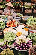 Dong Ba market. Hue, Vietnam
