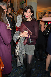 RONNI ANCONA at the opening night of People, Places & Things at The Wyndham's Theatre, Charing Cross Road, London on 23rd March 2016,