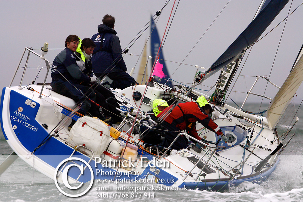 Artemus OC43, Round the Island Race, 2011, Cowes, Isle of Wight, Photographs © Patrick Eden Sports Photography