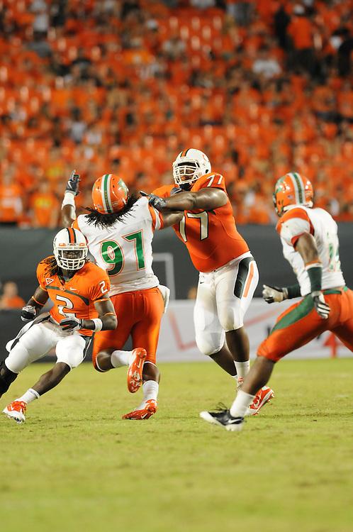 2010 Miami Hurricanes Football vs FAMU