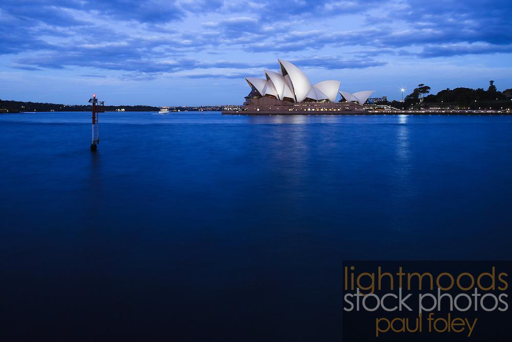 Sydney Opera House, Australia at Dusk