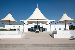 Pavilion Al Mamzar Beach Park in Sharjah United Arab Emirates